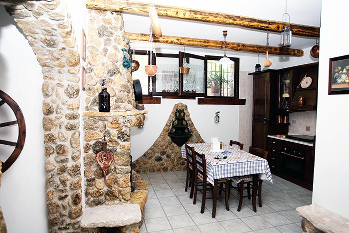 La Taverna del Saraceno Cucina