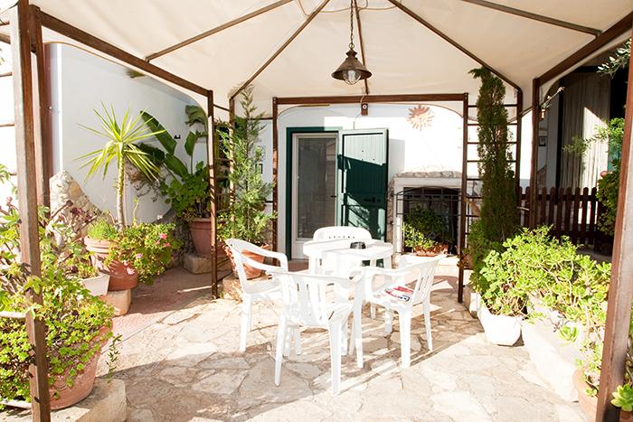 La Taverna del Saraceno Ingresso Giardino