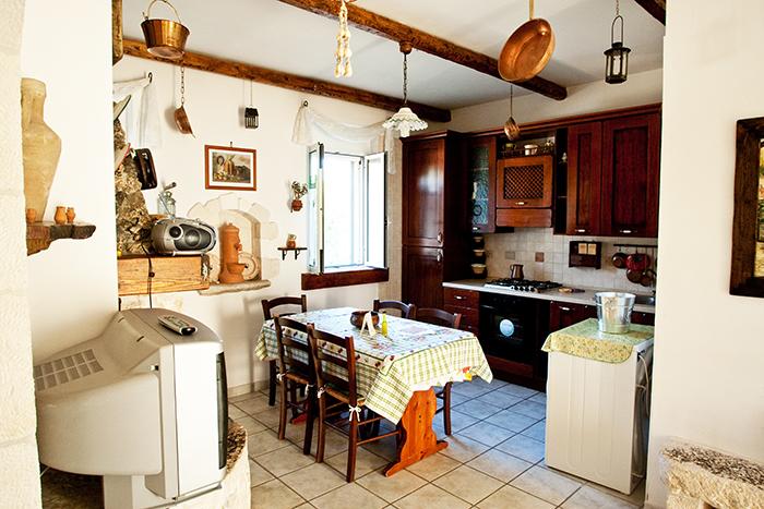 Villa Le Zagare Cucina